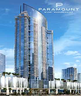 Paramount World Center - Downtown Miami - A partir de: $620.000